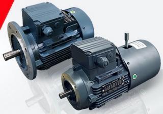 Электродвигатели с тормозом INNOVARI серии EL, EC, EG