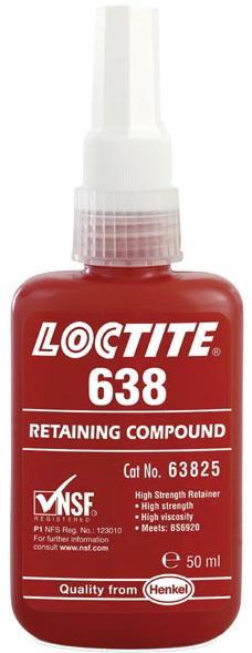 Loctite 638 высокопрочный  универсальный вал-втулочный фиксатор