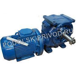 Мотор редуктор червячный одноступенчатый МЧ-100, МЧ-125, МЧ-160, 1МЧ-160